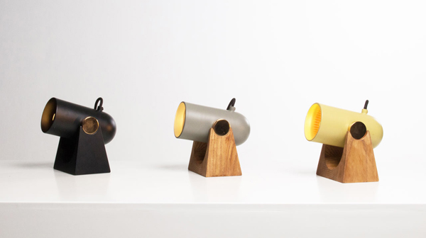 Carronade Table Lamps from Markus Johansson