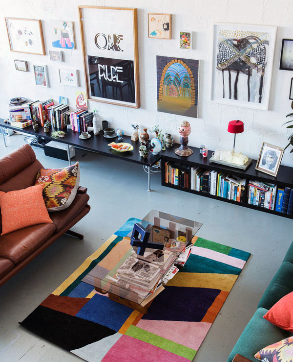 10 Living Room Designs With Colorful Rug | House Design And Decor