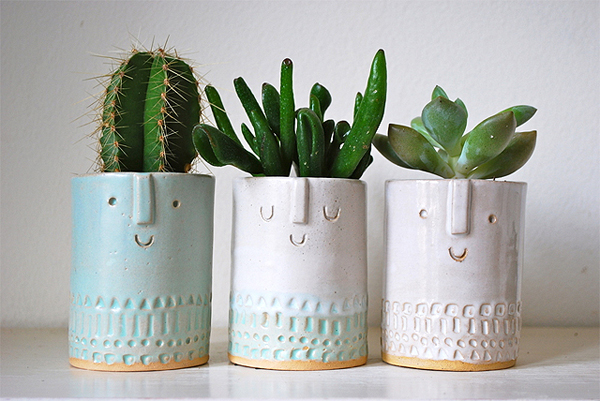Adorable Planter Vases from Atelier Stella