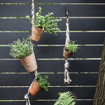 DIY Stylish Hanging Vertical Garden