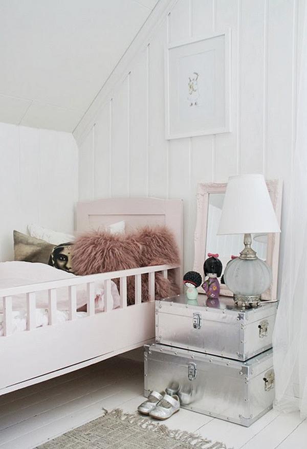 Attic Girl Bedroom