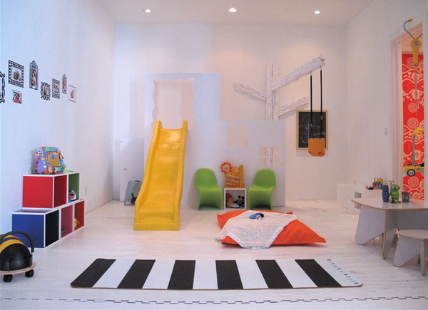 40 cheerful kids playroom ideas house design and decor for Cool playroom designs