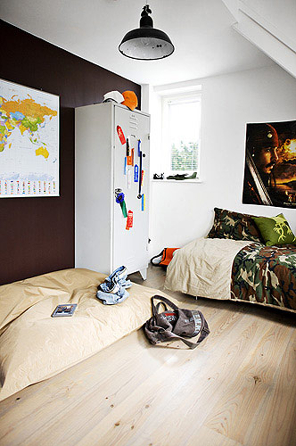 Sporty teen boys bedroom ideas house design and decor Cool teen boy room ideas