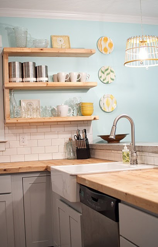 Cool Wooden Kitchen Countertops