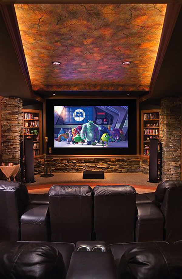 15 best modern home theater ideas house design and decor. Black Bedroom Furniture Sets. Home Design Ideas
