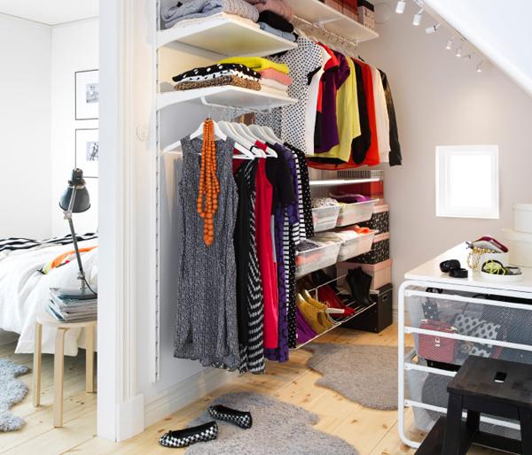 Ikea Closet Bedroom For Girl