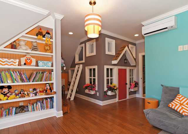 Kids Basement Playhouse