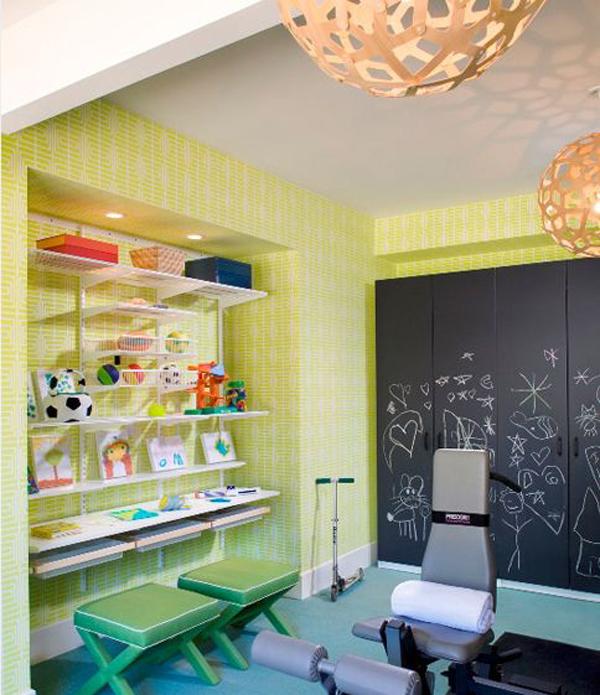 Kids Basement Playroom And Gym