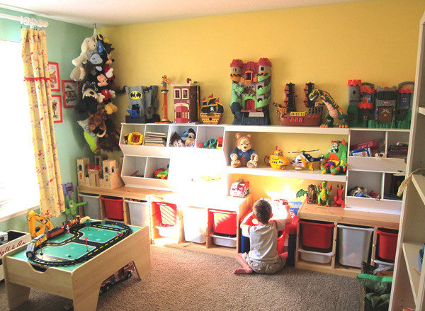 40 Cheerful Kids Playroom Ideas | House Design And Decor