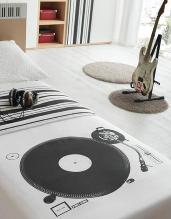 30 Cool Boys Music Bedroom Ideas