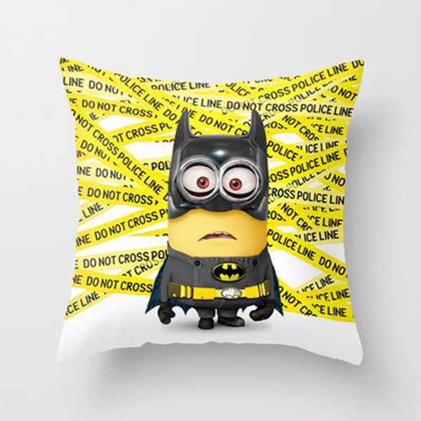 Minion Batman Pillow