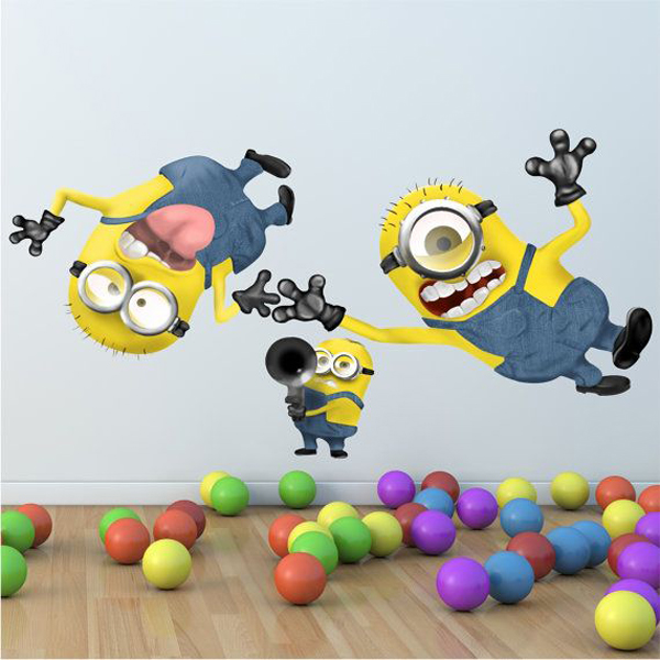 Adorable kids bedrooms with minion ideas house design and decor