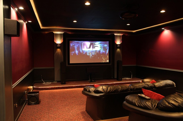 Modern home theater design ideas Home theater architecture