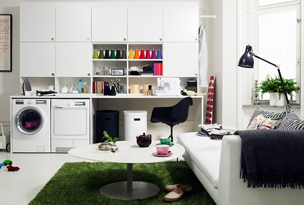 25 Small Laundry Room Designs
