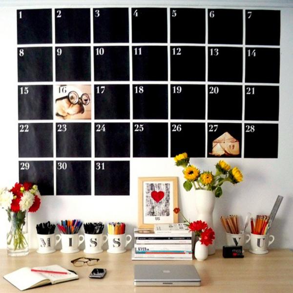 Kitchen Calendar Design : Inspiring mug wall storage ideas house design and decor