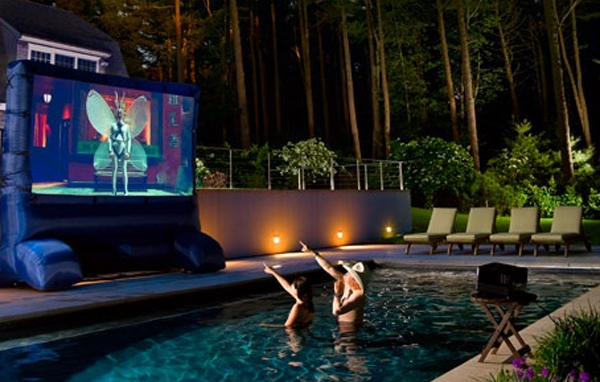 20 Most Beautiful Outdoor Home Theater Ideas | House ...