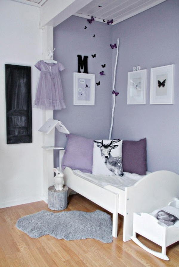 15 pretty girl room ideas house design and decor - Deco chambre enfant fille ...