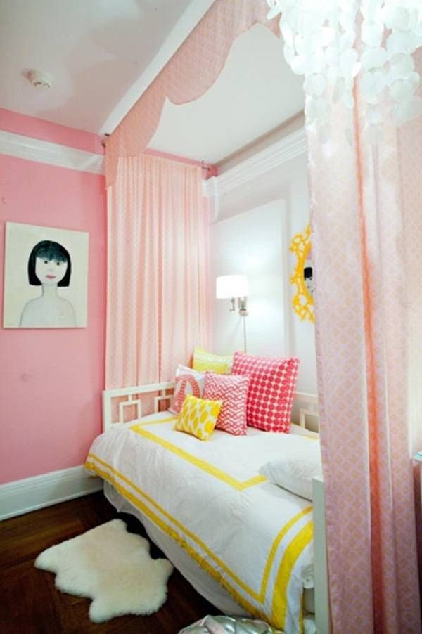 20 pretty and stylish teenage girl bedroom ideas house for Pink teenage bedroom designs