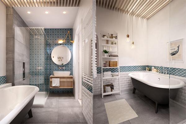 Scandinavian Design Bathroom: Scandinavian-apartment-bathrooms