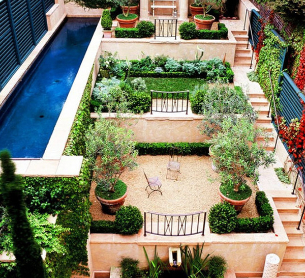 Small garden pool designs for Pool garden house