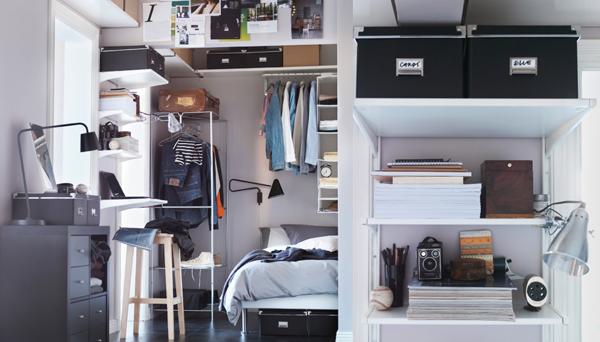 small ikea bedroom storage ideas