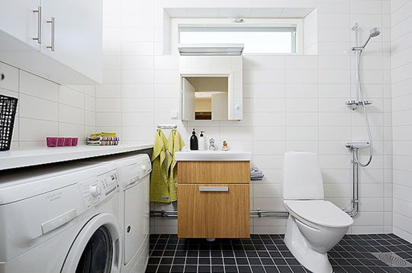 Bathroom Laundry Room Design Ideas ~ Small laundry with bathroom combinations house design