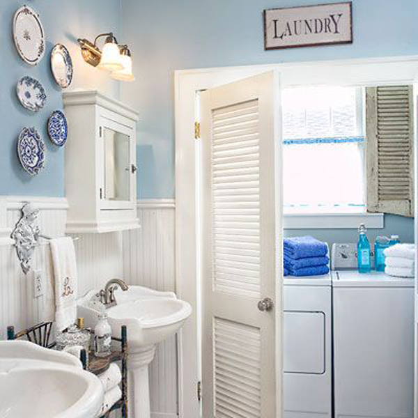 Laundry Room Bathroom Combination Small Spaces