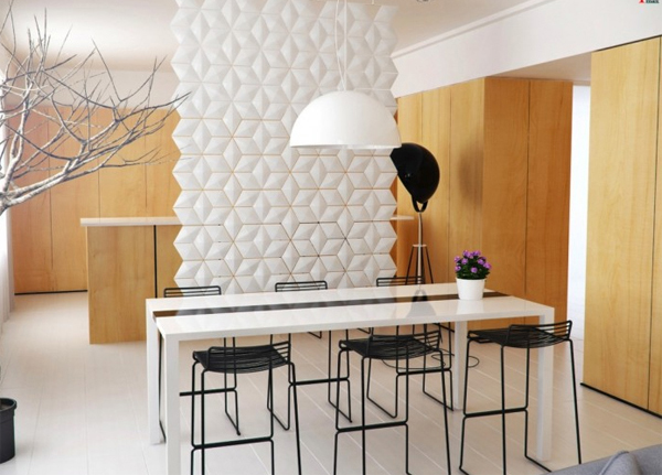 15 modern stylish dining room designs house design and decor for Small modern dining room