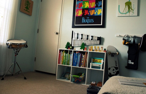 30 cool boys music bedroom ideas house design and decor for Music bedroom designs