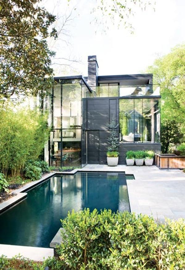15 Minimalist Small Pool Designs House Design And Decor