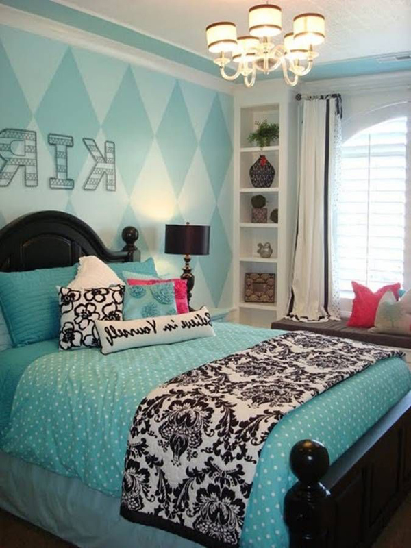 20 Pretty and Stylish Teenage Girl Bedroom Ideas | House ... on Pretty Room Decor For Girl  id=62581
