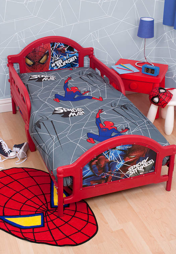spiderman bedroom