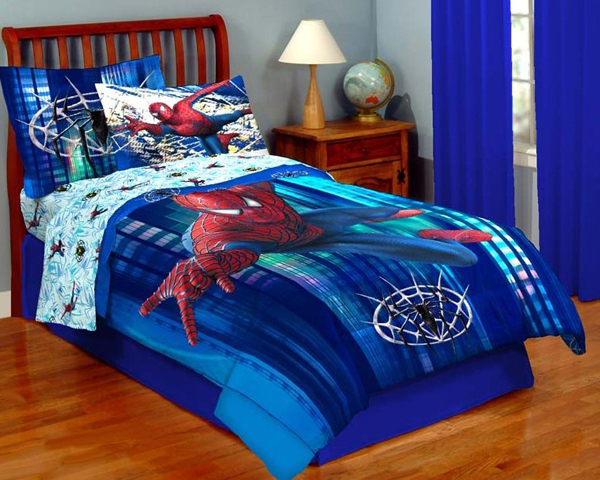 20 kids bedroom ideas with spiderman themed house design and decor - Spiderman decorating ideas bedroom ...