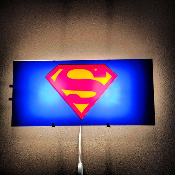 Coolest Kids Bedroom With Superman Themes House Design