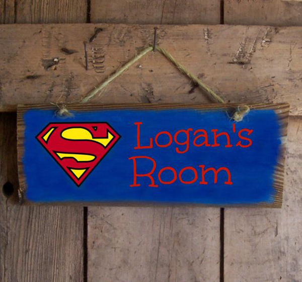 Coolest Kids Bedroom With Superman Themes  