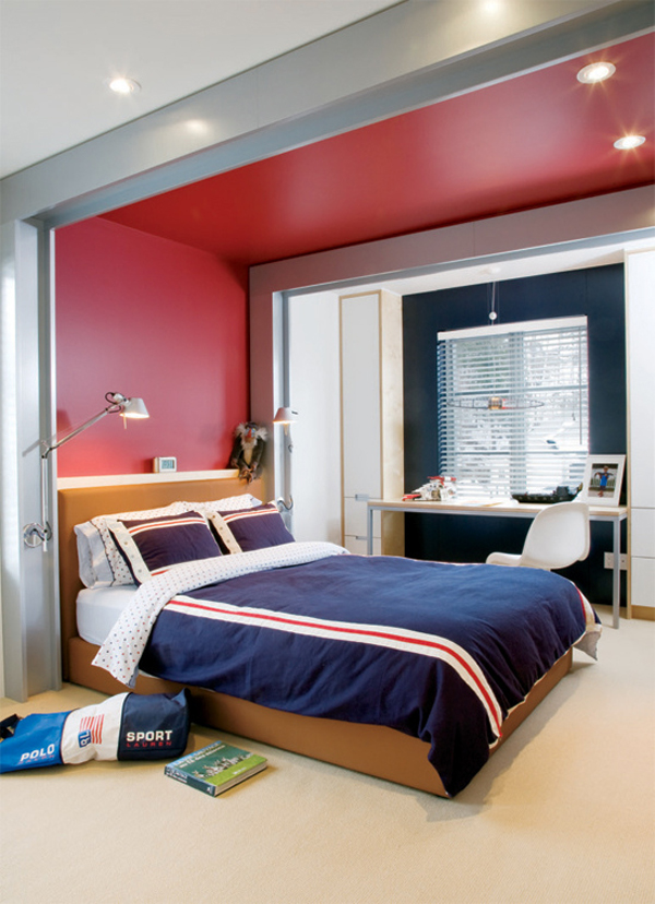 Sporty teen boys bedroom ideas house design and decor Modern bedroom ideas for teenage guys