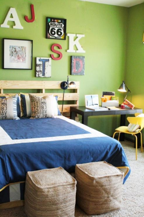 Teen boys bedrooms for Boys bedroom ideas paint
