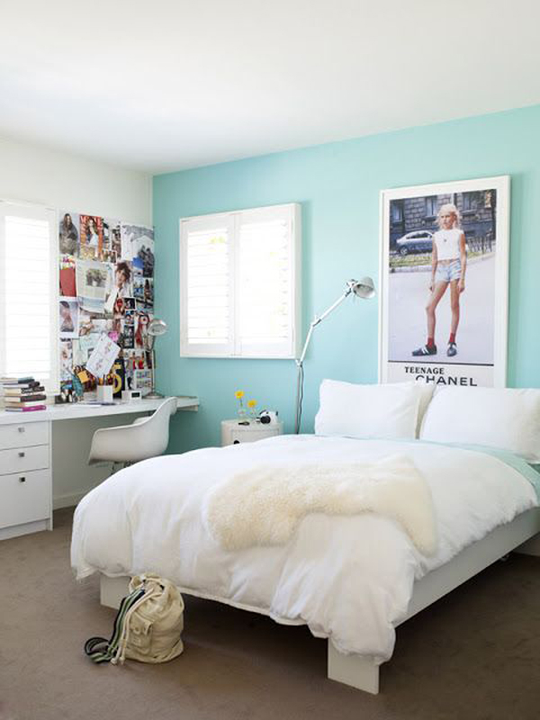 Teenage girl bedroom decor - Bed room for teen ...