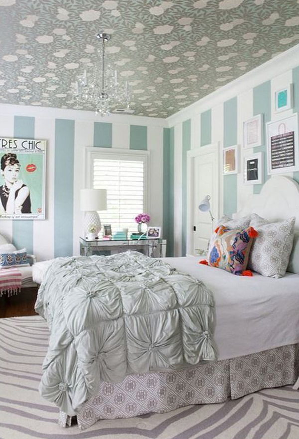 Teenage girl bedroom wallpaper - Bed room for teen ...