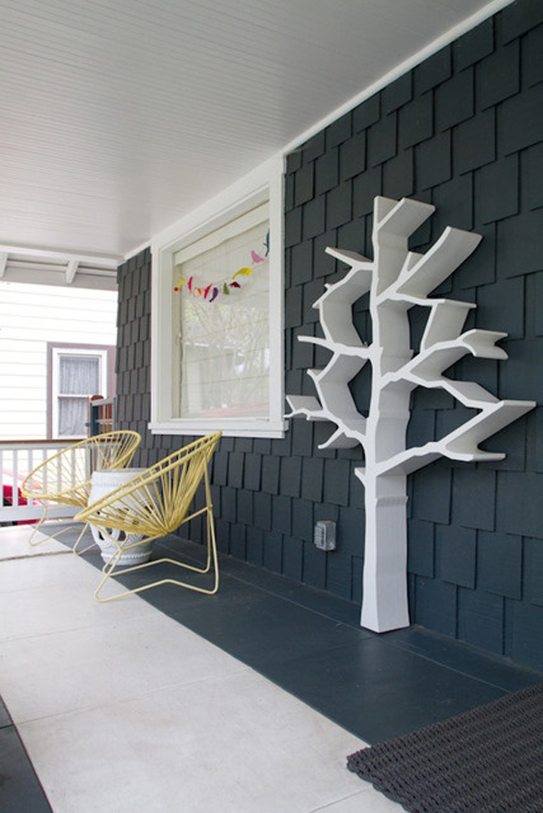 20 Tree Branch Bookshelf Ideas