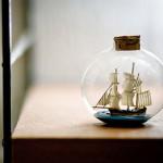 15 Vintage Miniature Ship Designs