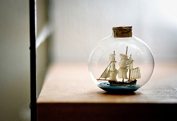 15 Vintage Miniature Ship Designs