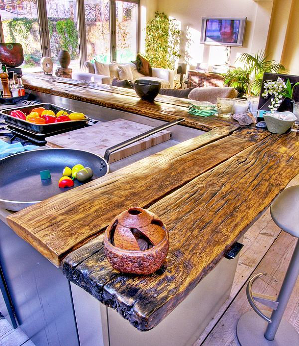 30 Wooden Kitchen Countertop Ideas