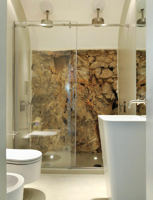 Wall stone bathroom ideas - Natural stone bathroom designs ideas ...
