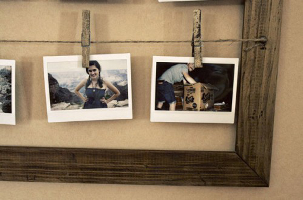 DIY Wall Photo Frames With Simple Design