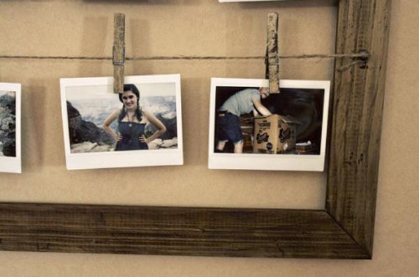 Photo Frame Design on Wall Diy Simple Photo Frame Designs