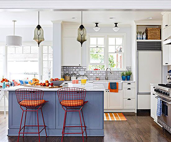 20 colorful kitchen ideas in small spaces house design