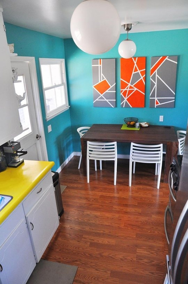colorful kitchen decor