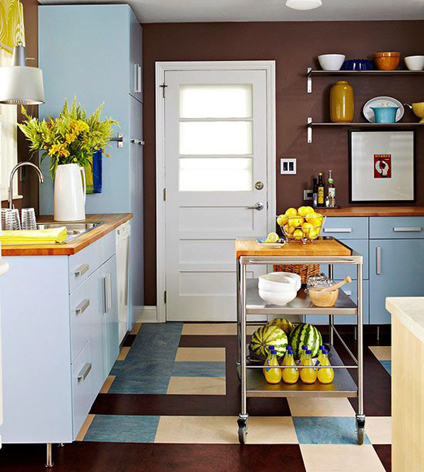 colorful kitchen ideas colorful kitchen in small space ideas 11058