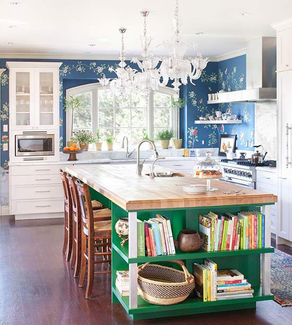 Colorful Kitchen Decor Pictures: 20 Colorful Kitchen Ideas In Small Spaces